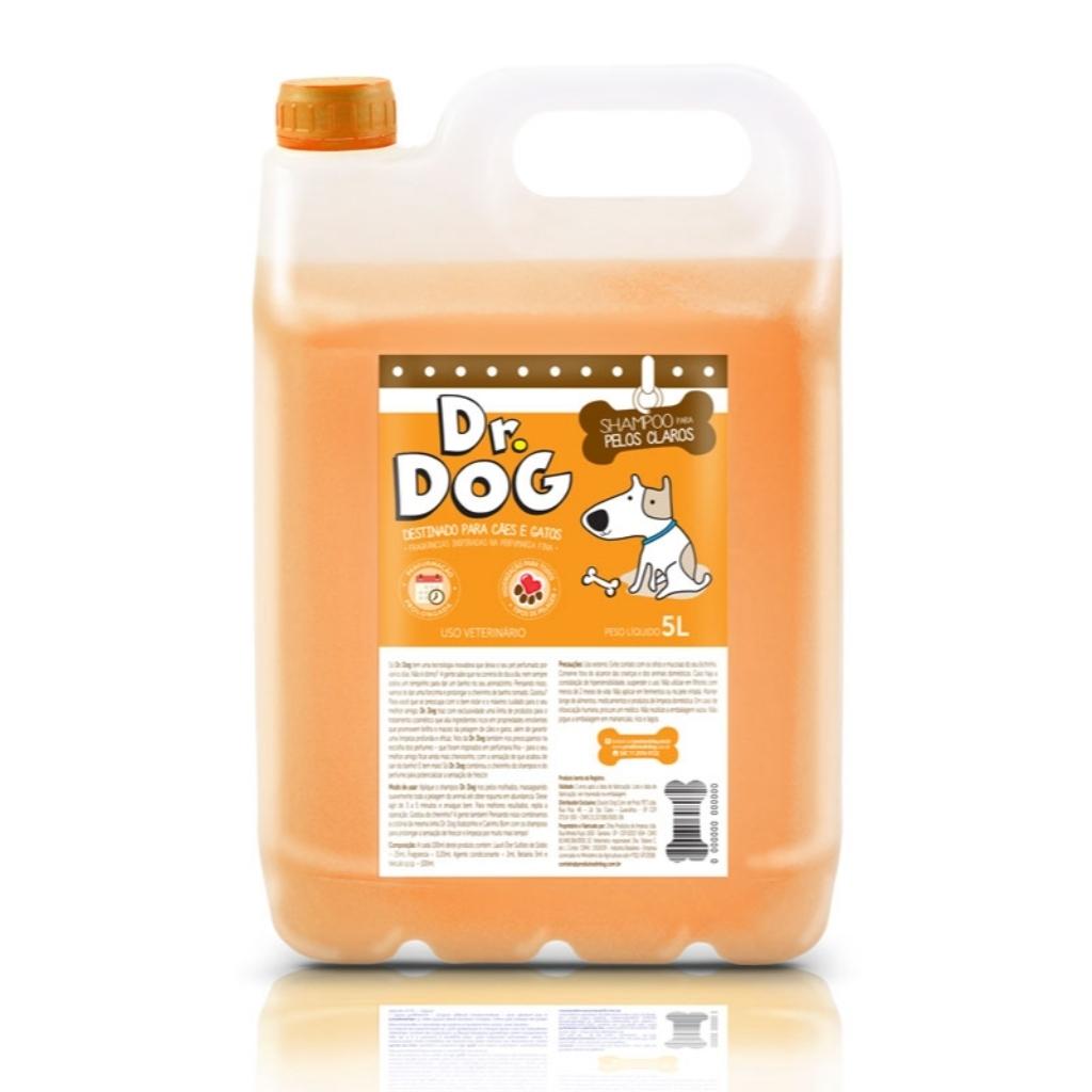 Shampoo Cachorro E Gato Clareador Dr D...