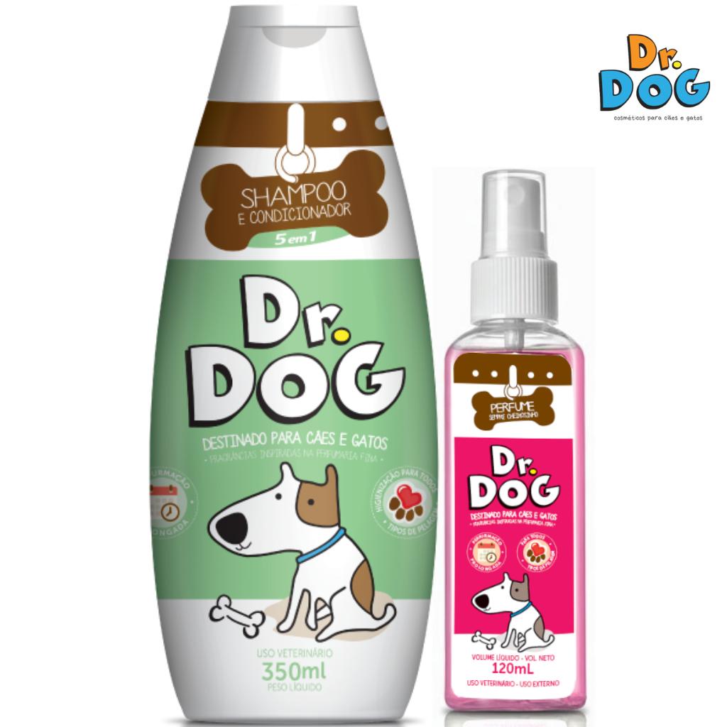 Kit Shampoo-Condicionador Cachorro Gat...