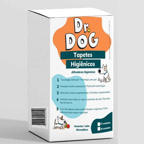 Tapete Higiênico Cachorro 80X60Cm Dr.d...