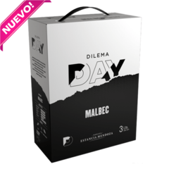 DILEMA DAY BAG IN BOX MALBEC 4 X 3000ML