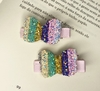 Kit Hair Clips Minnei Glitter