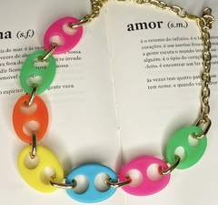Chocker Lacre Colorida