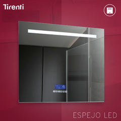 Espejo bluetooh touch led