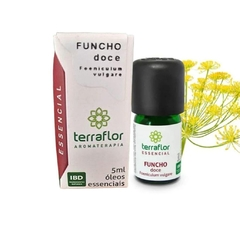 Óleo Essencial de Funcho Doce 5ml 100% Natural Terra Flor