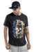 Camiseta Semi-Alongada Masculina Pull The Trigger