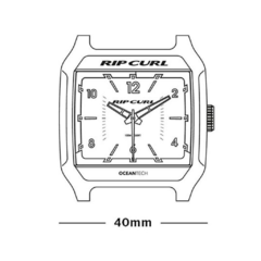 Relógio Rip Curl Rifles Analog Military - Poison Surf Shop