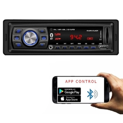 Rádio Automotivo Player Doorbem FM MP3 Usb Bluetooth Auxiliar Frontal