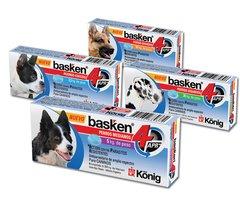 Basken comprimidos - Antiparasitario interno de amplio espectro para Perros