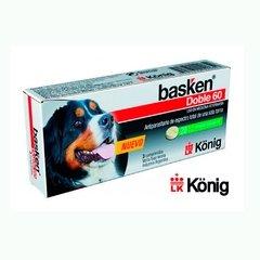 Basken Doble 60 comprimidos - Antiparasitario interno de amplio espectro para Perros