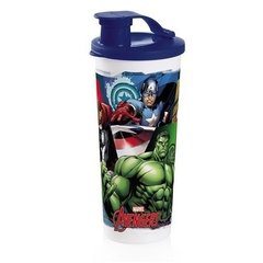 Copo com Bico Vingadores 470ml TUPPERWARE