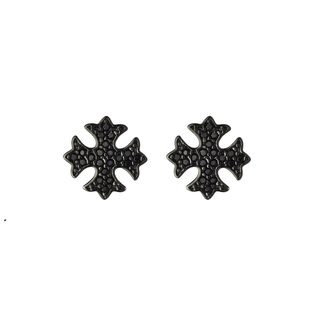 Malta Cross Earrings