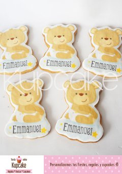 Galletas personalizadas formas especiales - baby shower en internet