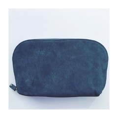 Pouch Blue Suede