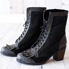 Botas Paris ϟ Negro - Frou Frou Shoes
