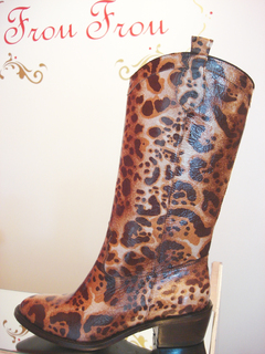 Botas Jo Print 35 - Frou Frou Shoes