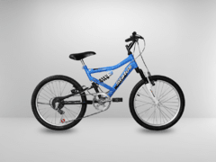 Bicicleta Aro 20 Status Full Suspension 6V