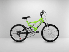 Bicicleta Aro 20 Status Full Suspension 6V - loja online