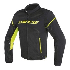 Campera Dainese Air Frame D1 Negro/verde fluo