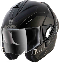 CASCO SHARK EVOLINE 3 MATT BLACK