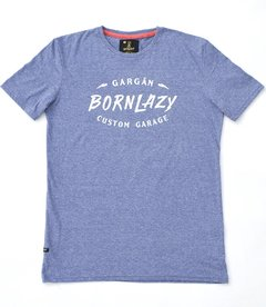 Remera Bornlazy Navy en internet