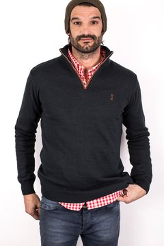 SWEATER ASPEN AZUL PETROLEO - SLIM