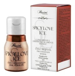 Kit 06 Gel Comestível Spicy Love Ice 15ml Pessini - Sex Sho - Bela MeninaSex