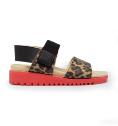 SANDALIAS PEPPER ANIMAL PRINT