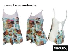 "Musculosa "" gota silvestre "" Run Gym Fitness"