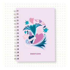 Cuaderno Bullet Journal Punteado A5 - LOVER