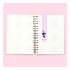 Cuaderno Bullet Journal Punteado A5 - LOVER en internet