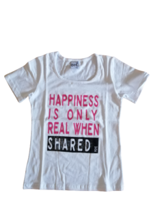 1000- Remera m/c Hapiness. - comprar online