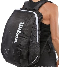 Mochila Wilson Federer Team White - TennisHero e-shop