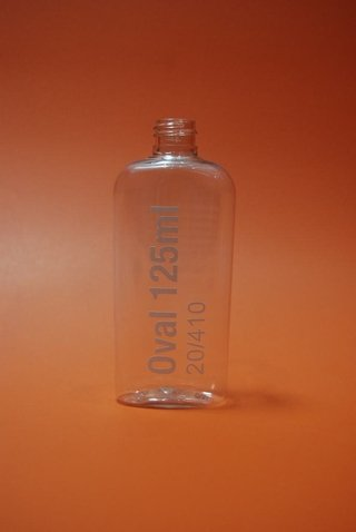 BOTELLA OVAL 125 ML R-24/415