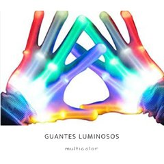 Guantes Luminosos - el par en internet