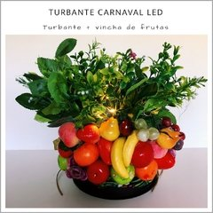 Turbante Carnaval LED
