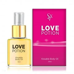 ACEITE COMESTIBLE LOVE POTION SABOR CHAMPAGNE Y FRAMBUESA