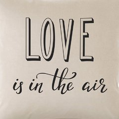 Funda de Almohadon 40x40 VH Fabrics Diseño Love is in the Air