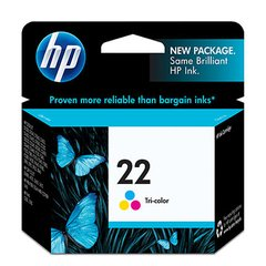 CARTUCHO HP 22 COLOR ORIGINAL (C9352AL)