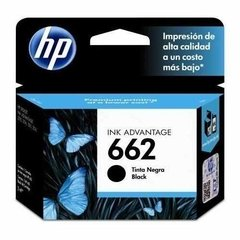 Cartucho HP 662 negro original