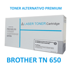 CARTUCHO BROTHER TN 650 TONER LASER ALTERNATIVO PREMIUM (TN650) en internet