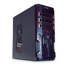 Pc Gamer K5C Intel Core I5 8gb 1TB + Ssd 120Gb Win10 Gtx 4gb - comprar online