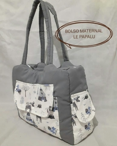 Bolso maternal con interior impermeable