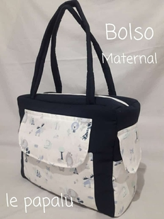 Bolso maternal con interior impermeable - LePapalu