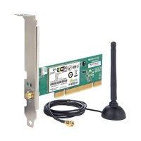 Placa de Rede Wireless 3Com, 802.11 b/g 54 Mbps PCI, 3CRPCIG75-LAT