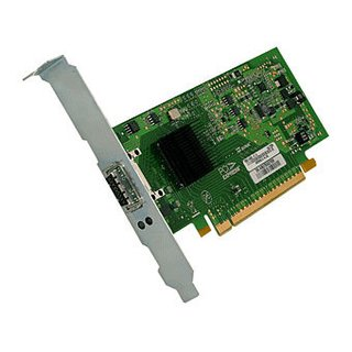 Controladora HBA QLOGIC 7104-HCA-LPX1P-DDR SILVERSTORM 7104, PCI Express x8 Low Profile, Infiniband - 4x Iinfiniband SFF-8470, Single Port