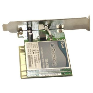 Placa de Rede Wireless PCI D-Link 54/108Mbps 2.4/5.8GHz 802.11a/g, DWL-AG530
