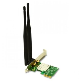 Placa de Rede PCI-E Wireless N300 Encore, ENEWI-2XN45