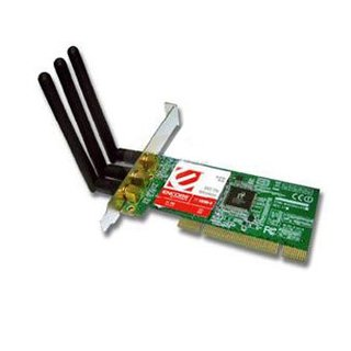 Placa de Rede Wireless PCI Encore N-Draft 300Mbps 802.11nm, ENLWI-N
