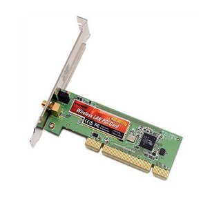 Placa de Rede Wireless PCI EDIMAX 54Mbps 802.11b/g, EW-7128g