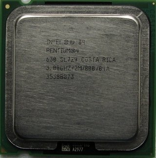 Intel Pentium 4 Processor 630 supporting HT Technology, SL7Z9